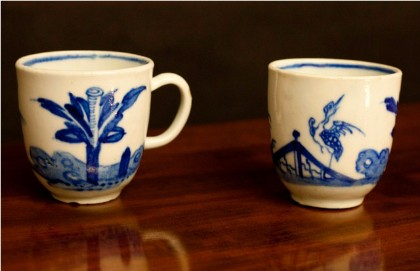 Blue and White Cups, Bow factory